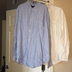 Set of 2 Five Four dress shirts size 2XL